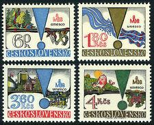 Czechoslovakia 2245-2248, MNH. Man and Biosphere Program of UNESCO, 1979
