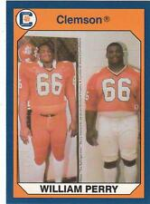 WILLIAM FRIDGE PERRY 1990 Collegiate Collection card #147 Clemson Tigers NR MT