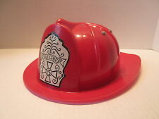 Fire Chief Plastic Toy Firefighter Helmet