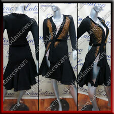 LATIN RHYTHM SALSA BALLROOM COMPETITION DANCE DRESS (LT1304)