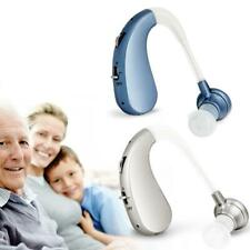 Digital Rechargeable Hearing Aid Severe Loss Invisible BTE Ear Aids High-Power