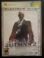 Hitman 2 Silent Assassin Xbox WITH CASE & INSTRUCTION MANUAL BUY 2 GET 1 FREE