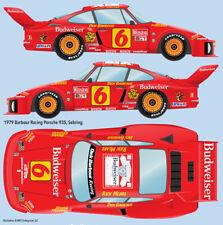 1979 Barbour Racing Porsche 935 Sebring/Daytona water transfer decals 1/12