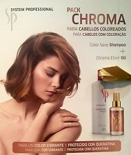 Kit Chroma: Champu Color Save Shampoo 500ML + Chroma Elixir 100ML Wella SP