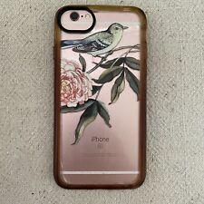 iPhone 6s unlocked 128gb Rose Gold Works Great & Anthropologie Bird Peony