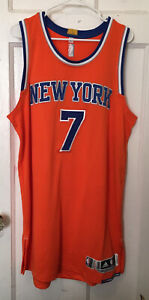 NY KNICKS CARMELO ANTHONY ADIDAS REV 30 TEAM ISSUED JERSEY AUTHENTIC PRO CUT 2XL
