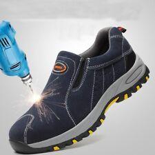 Zapatos De Trabajo Estilo Resit Para Seguridad Con Punta De Acero Para Hombres+