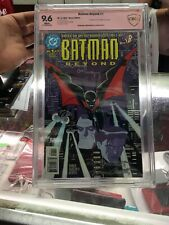 Batman Beyond #1 CBCS 9.6 Verified Signatures Not CGC (1999) DC COMICS Issue 1