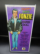 1976 vintage Happy Days FONZIE Paper Doll set SEALED toy factory MIB unused FONZ