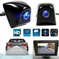 170° Car Rear View Backup Reverse Parking Camera IR Night Vision Waterproof SPD