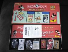Monopoly Mickey Mouse 75th Anniversary Collector's Edition Board Game 2004