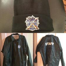 NHL Winter Classic 2018 Staff Jacket & Knit Cap Hat Citi Field New York Rangers