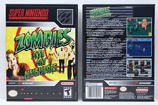 Zombies Ate My Neighbors - Super Nintendo SNES Custom Case *NO GAME*