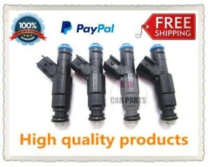 4 Pcs Fuel Injectors 0280156154 For Ford Focus Fiesta Mondeo Mazda Atenza Volvo