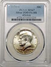 1976 S Bicentennial 50C Silver Half PCGS MS 67 DDO FS-101 (FS-016) Variety CPG
