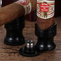 Galiner Metal Cigar Holder Stand Portable Mini Ashtray Cigar Travel Cutter Punch