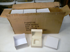 New Lot of 12 Jewelry Boxes Gift Package Ring Earring Display Presentation Box