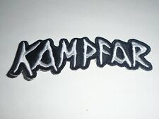 KAMPFAR BLACK METAL EMBROIDERED PATCH