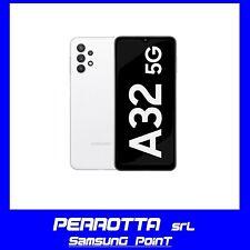 SAMSUNG Galaxy A32 5G 4GB RAM +128GB Black White NUOVO 2anni Garanzia Italia