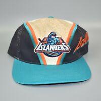 New York Islanders Fisherman Vintage NHL Twins Enterprise Men's Snapback Cap Hat