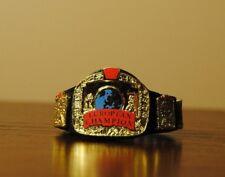 WWE WWF Mattel Elite European Championship title belt for action figure