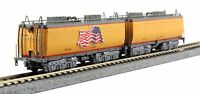 Kato N Scale 106-085 Union Pacific Water Tender Two Car Set New!