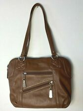 STONE MOUNTAIN Brown Leather Tote H