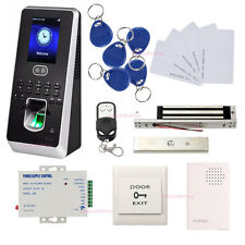 Kit de Terminal de Control de Acceso Multi-biométrico Magnetic Lock Control Remo