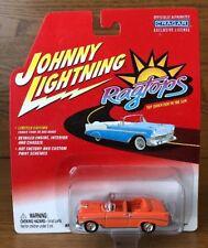 JOHNNY LIGHTNING - RAGTOPS - 1956 CHEVROLET / CHEVY BEL AIR CONVERTIBLE - 1/64