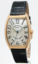 Franck Muller Curvex Platinum Rotor 18k Rose Gold Automatic Mens Watch 6850 SC