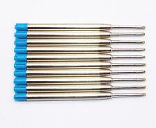 10Pcs Jinhao Standard Blue Ballpoint pen Refills Nib Medium New