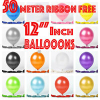 50 new Latex metallic pearl BALOON helium BALLOON Quality Party Birthday Wedding
