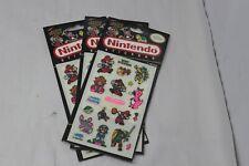 (1) NINTENDO Vintage Sticker Pack Rare 80's