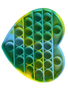 Push It Pop Fidget Bubble Pop Trend Toy anti Stress Rainbow Tiktok