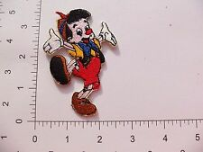EMBROIDERED Disney Pinocchio #272 Iron On / Sew On Patch Party Bag