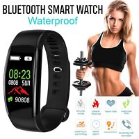 Smart Watch Band Heart Rate Oxygen Blood Pressure Fitness Tracker Activity New