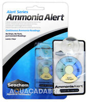 SEACHEM AMMONIA ALERT TEST KIT AMMONIA MONITOR MARINE FRESH AQUARIUM FISH TANK