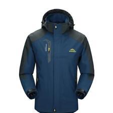 Men Waterproof Hoodie Outdoor Coat Jacket Soft Shell Winter Ski Rain Hoodie Coat