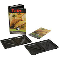 TEFAL Toasted Sandwich Set Croque Triangle Toastie Snack Collection