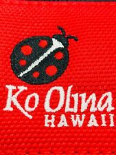 Ko Olina Golf Course Hawaii Black Red Magnetic Mallet Putter Headcover Nylon