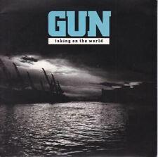 """Taking On The World 7"""" (UK 1990) : Gun"""