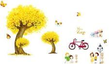 Lively Park Tree Bike Kids Nursery Child Removable Home Decor Wall Sticker YTB