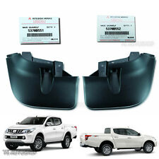 L R 4x4 Front Mud Flap Splash Guard Genuine for Mitsubishi L200 Triton 2015 16