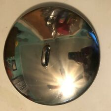 "Approx. 12"" overall Stainless Steel Replacement Lid or Cover for Pot or Skillet"
