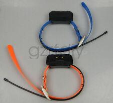 2*GARMIN DC40 GPS dog collar for ASTRO220/320 (Blue & Orange strap) EUR Version