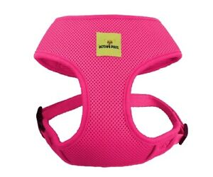 Pink Dog Harness Cute Puppy Vest Breathable Adjustable Mother's Day Gift Dogs