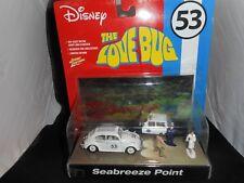 Herbie the Love Bug Johnny Lightning Seabreeze Point 1/64 diorama RARE !! Disney