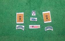 1/6 WW2 British SAS LRDG RUR Col Blair Paddy Mayne medal ribbons &  patches lot