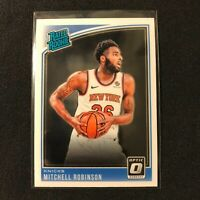 MITCHELL ROBINSON  RC 2018-19 Panini Donruss OPTIC Rated Rookie #163 NY Knicks