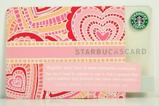 "2005 STARBUCKS CARD ""VALENTINES HEARTS"" OLD LOGO NO BALANCE"